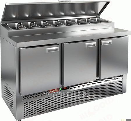 Купить Стол охлаждаемый для пиццы Hicold PZE1-111/GN 1/3H