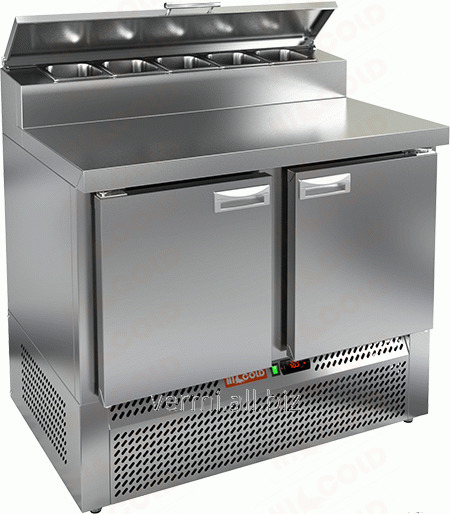 Buy Table refrigerating for Hicold PZE2-11/GN 1/6H pizza