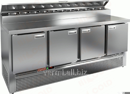Buy Table refrigerating for Hicold PZE2-1111/GN 1/6H pizza