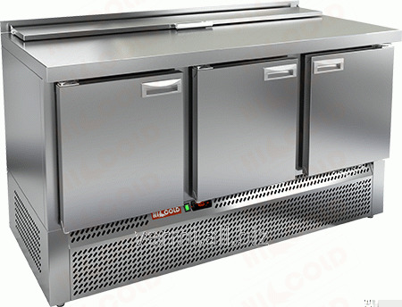 Купить Стол холодильный для салатов саладетта Hicold SLE2-111GN 1/6