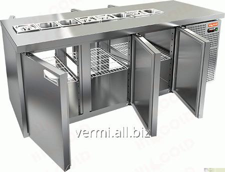 Купить Стол охлаждаемый для салатов саладетта Hicold SL2T-111/GN 1/6
