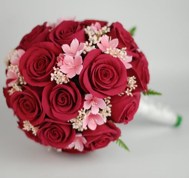 Букеты для невест в караганде, оранжевых лилий букет