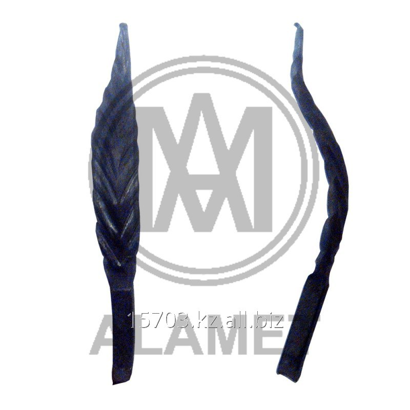 Buy The leaf forged kv10 120х60 mm the article 10336