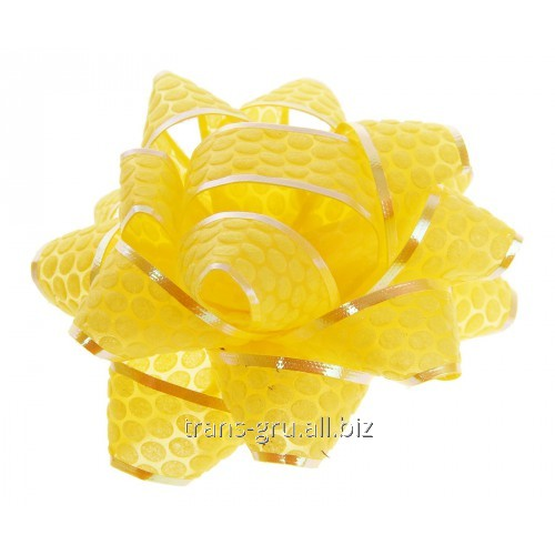 Buy Bow star No. 7,5 Honeycombs, color yellow