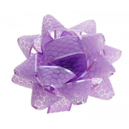 Buy Bow star No. 7,5 Honeycombs, color viole