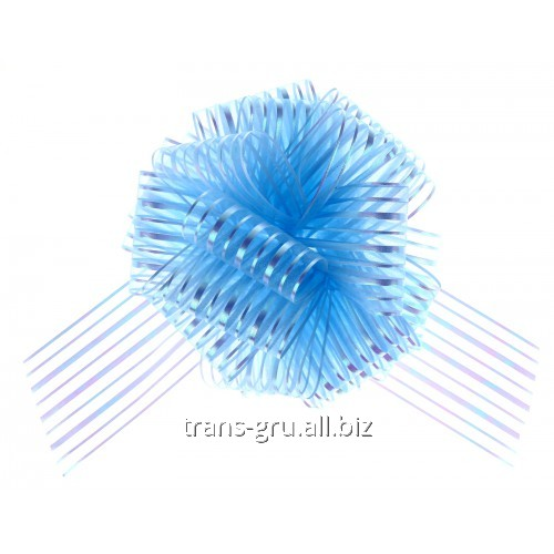 Buy Strip bow sphere No. 10, color blue