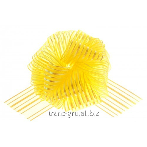 Buy Strip bow sphere No. 10, color yellow
