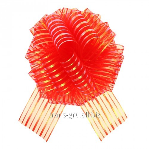 Buy Strip bow sphere No. 10, color red