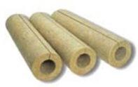 Каменноватные цилиндры с кашировкой алюминиевой фольгой Isotec Section AL, внутренний диаметр 133 мм