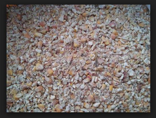Отходы зерна разных категорий, фасованные