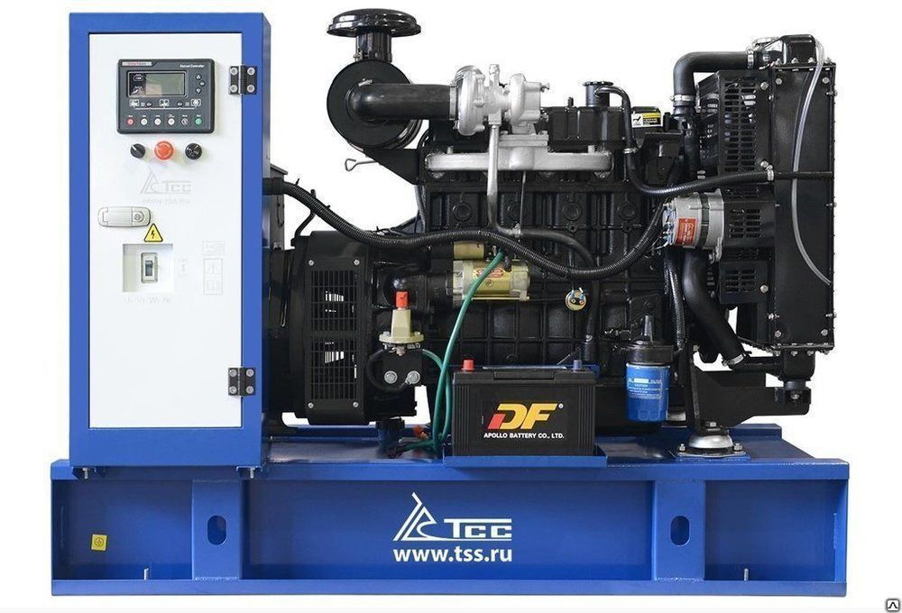 Дизельный генератор ТСС АД-50С-Т400-1РМ двигатель TDK-N 66 4LT (N4105ZLDS)