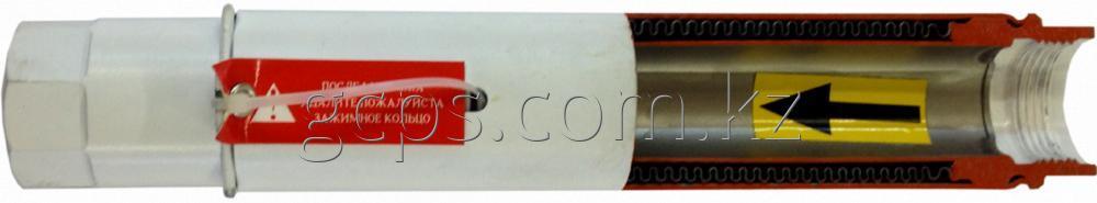 Компенсатор сильфонный однослойный для систем отопления многоэтажных зданий BKKB-50 резьбовой