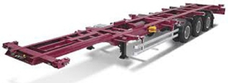 Buy PMP Servis semi-trailer container carrier