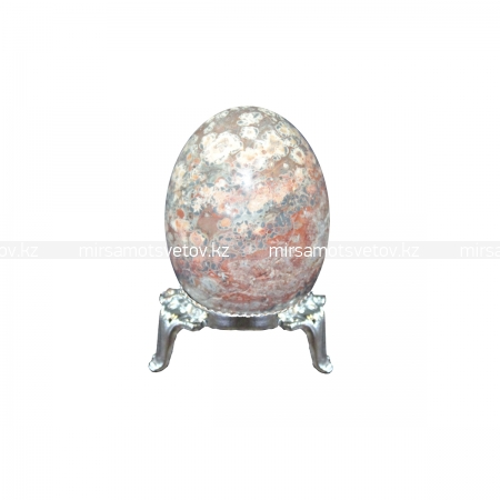 Купить Сувенир Яйцо Цветочная яшма 220061