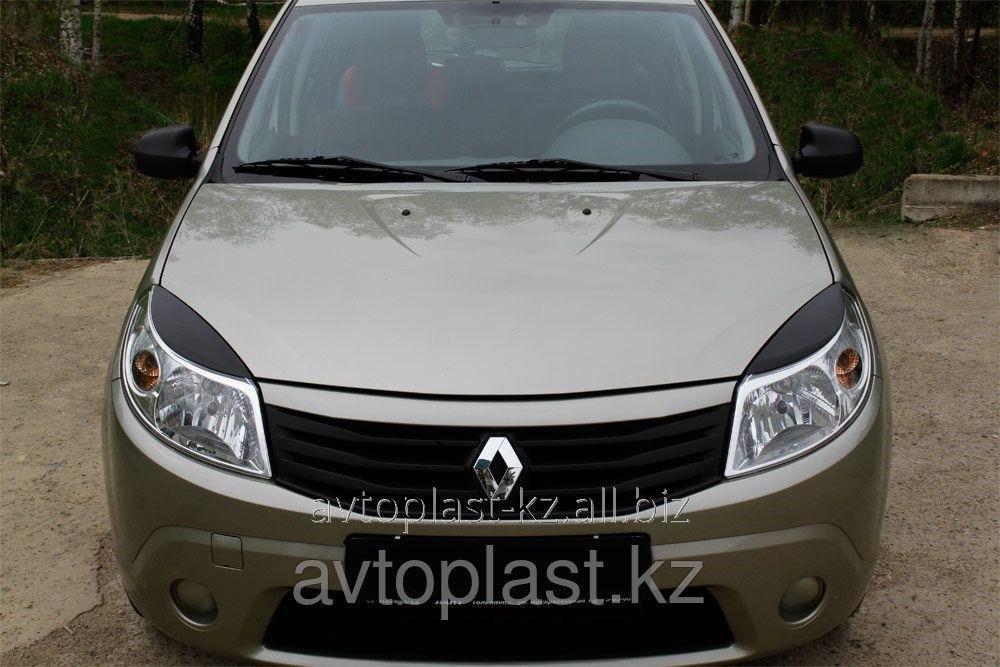 Eyelashes On Headlights Of Renault Sandero 09 13 Buy In Almaty