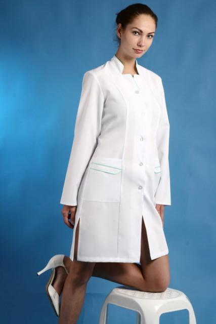 Женские медицинские халаты Женская медицинская одежда