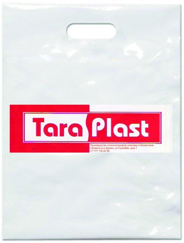 Buy Plastic bag, drawing logo. Producer. Any volumes.