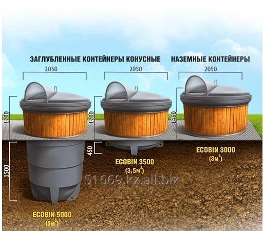 Euro çöp konteyneri