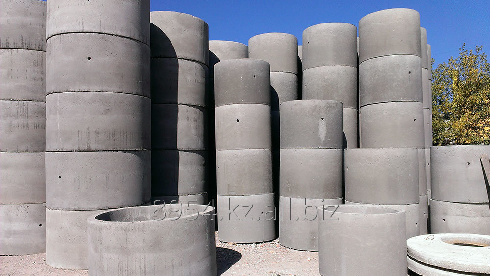 Quality septic tank made of concrete rings