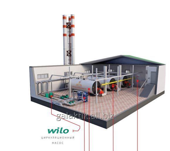 Installation stationary boiler room, SABMK-7000 model buy in Atyrau
