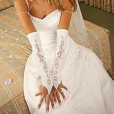 Купить Свадебные перчатки