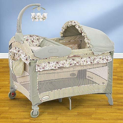 Детская кровать манеж фото