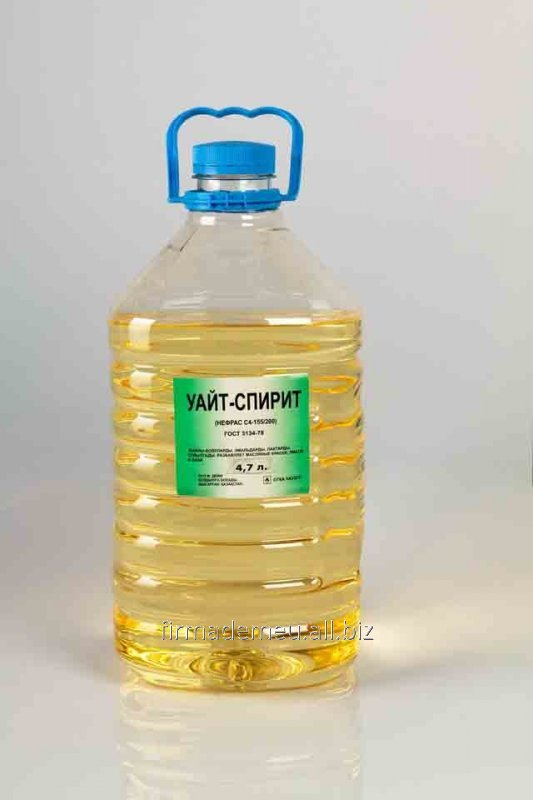 Buy White spirit 20l. from Firm Demeu LLP