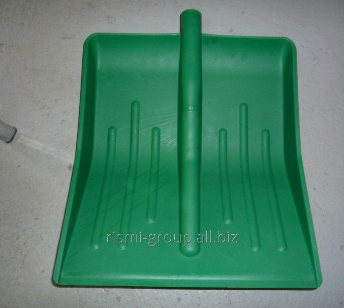 Shovel plastic mm No. 9, 490 x 400