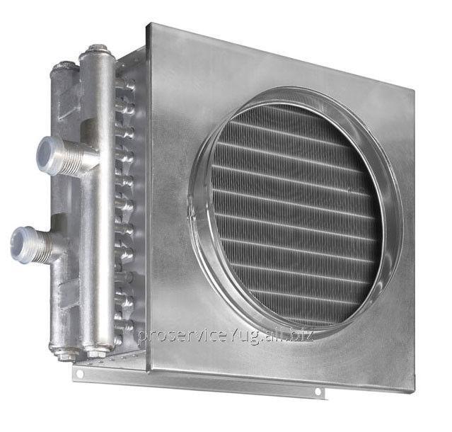Водяной нагреватель для круглых и квадратных каналов Shuft WHC 400x400-2