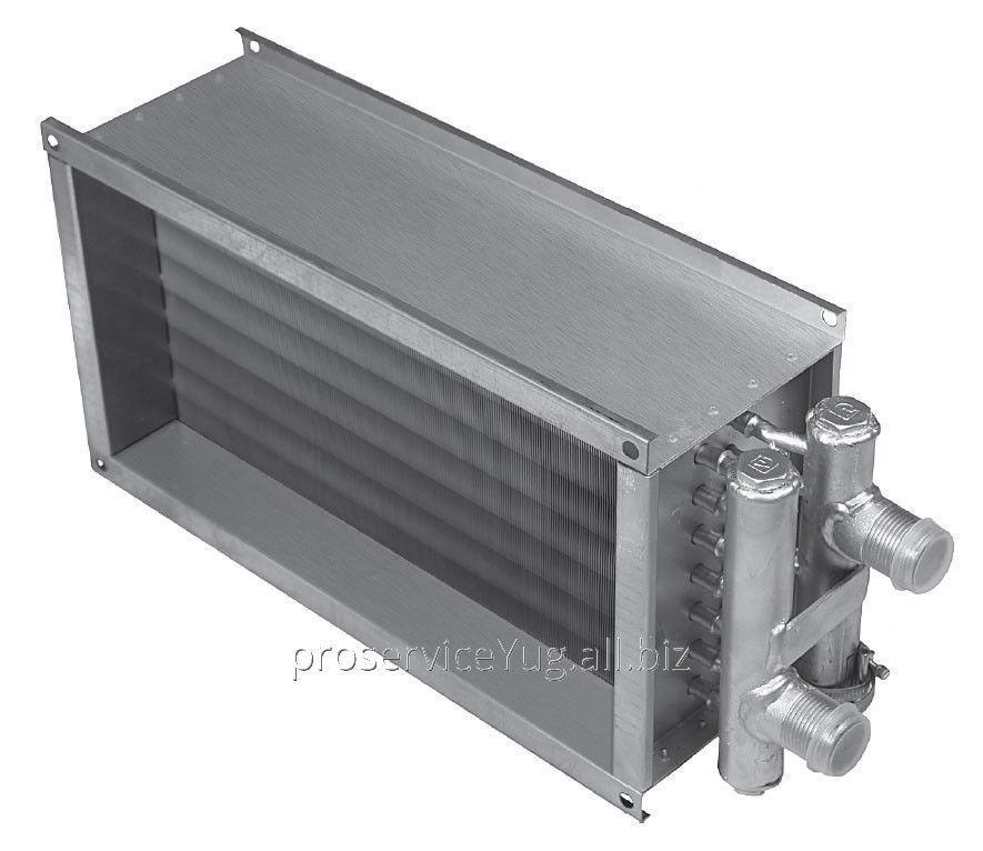Водяной нагреватель для прямоугольных каналов Shuft WHR 500x250-2