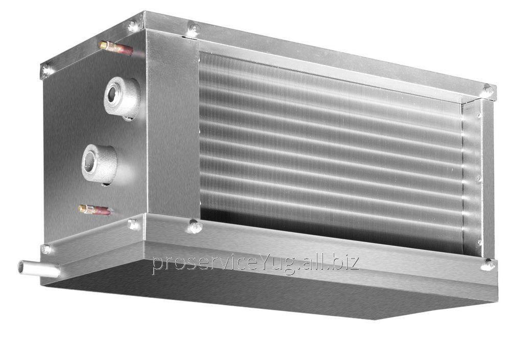 Водяные охладители для прямоугольных каналов Shuft WHR-W 1000*500/3