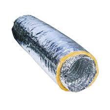 Гибкий теплоизолированный воздуховод Ballu ISOBFA 102х10м
