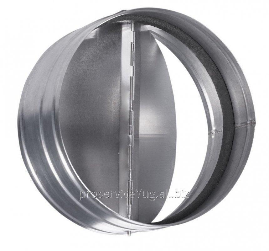 Обратный кллапан для вентиляторов круглого сечения Бабочка Shuft RSK 125