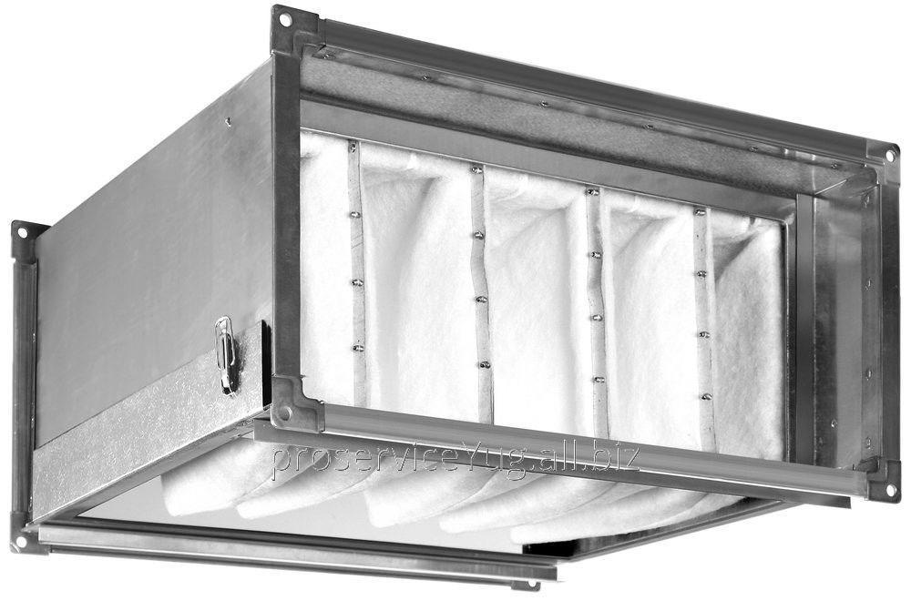 Фильтр для прямоугольных воздушных каналов Shuft FBRr 400*200