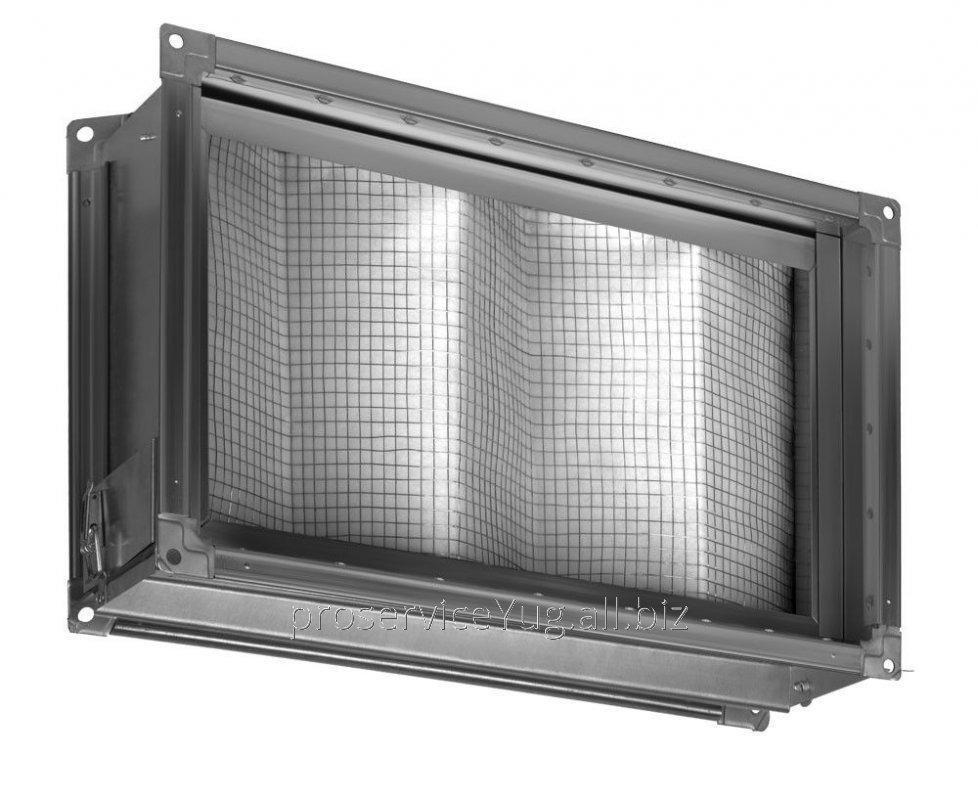 Фильтр для прямоугольных воздушных каналов Shuft FBRr-K 600x300