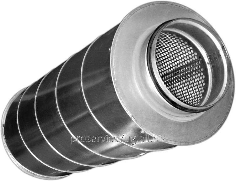 Шумоглушитель для круглых воздушных каналов Shuft SCr 125/900