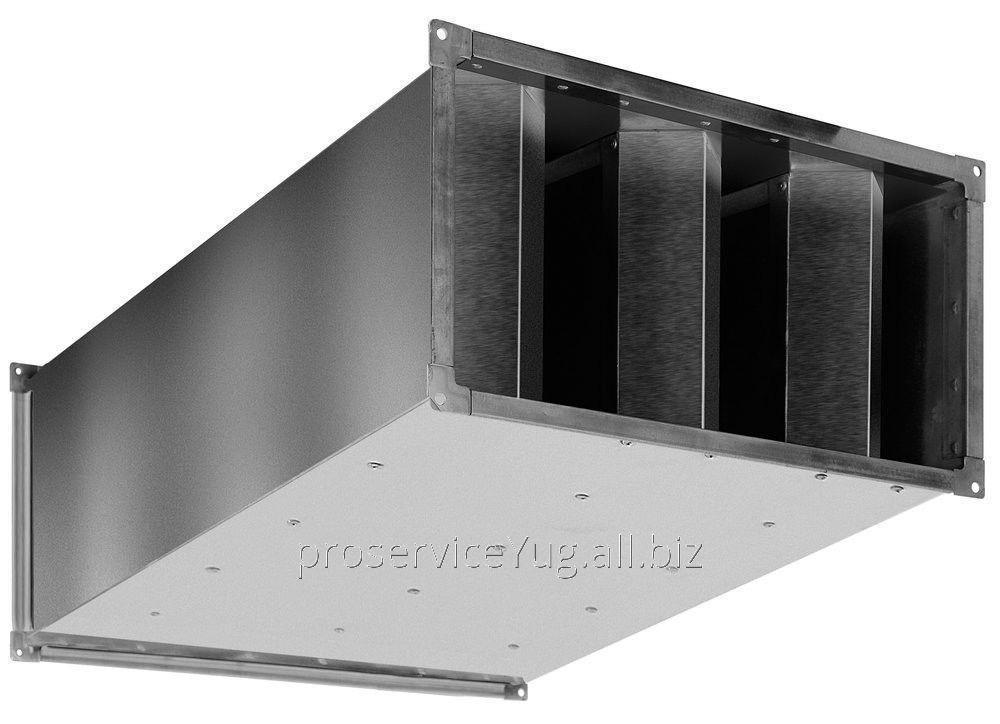 Шумоглушитель для прямоугольных воздушных каналов Shuft SRSr 400*200