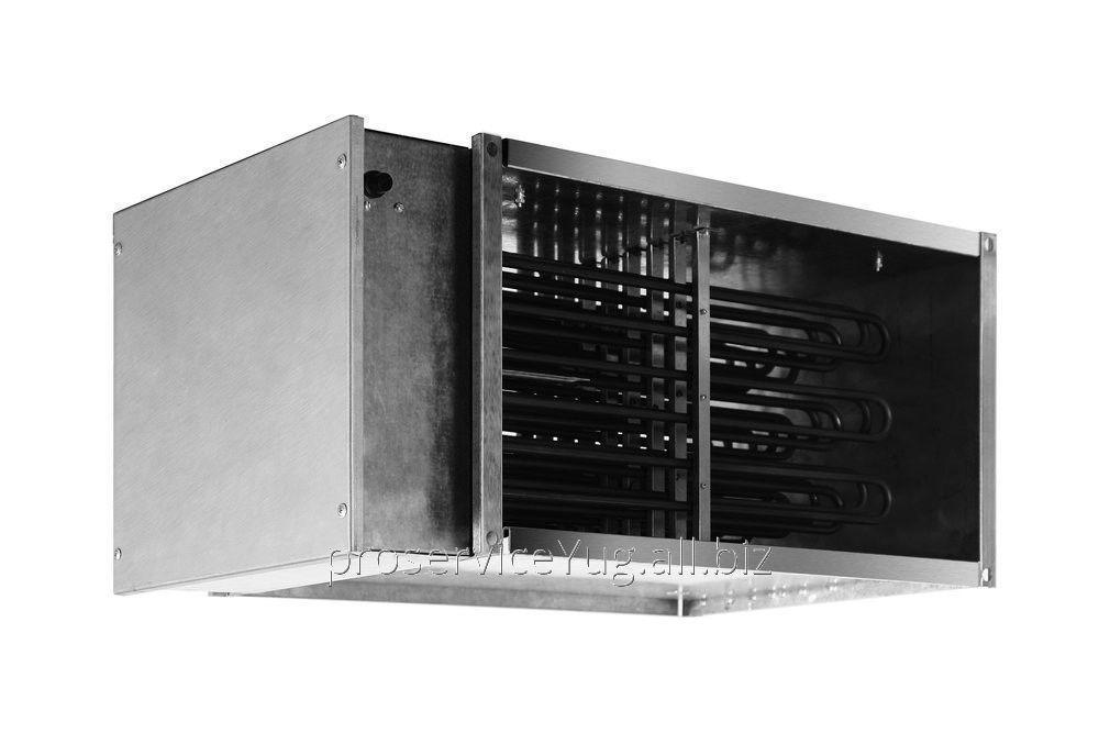 Электрический нагреватель для прямоугольных каналов Shuft EHR 600x350 - 45