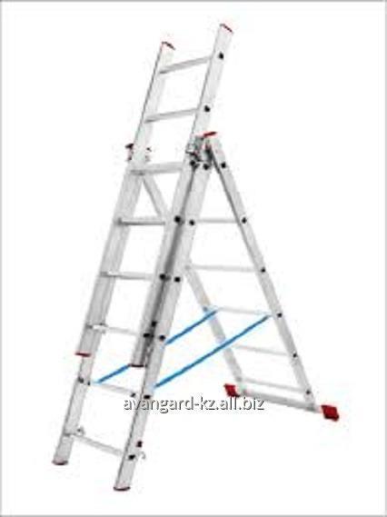Купить Лестницы алюминиевые трехсекционные от ТОО Avangard KZ