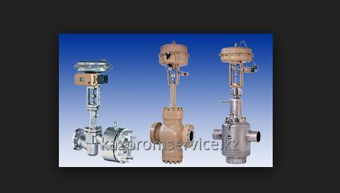 Пневматический регулирующий клапан тип 3259-1 и тип 3259-7
