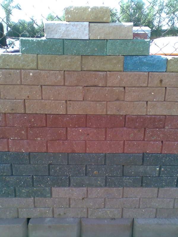 Buy Brick concrete wall 250kh125kh88mm