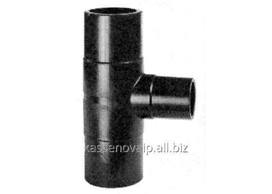 Buy Tee adapter of cast PE-100 SDR of 17 d-450х315