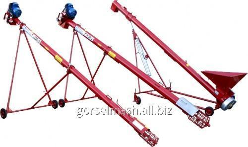 Шнековый транспортер зерна с электроприводом Т 206/2, Т 206/3, Т 206/4
