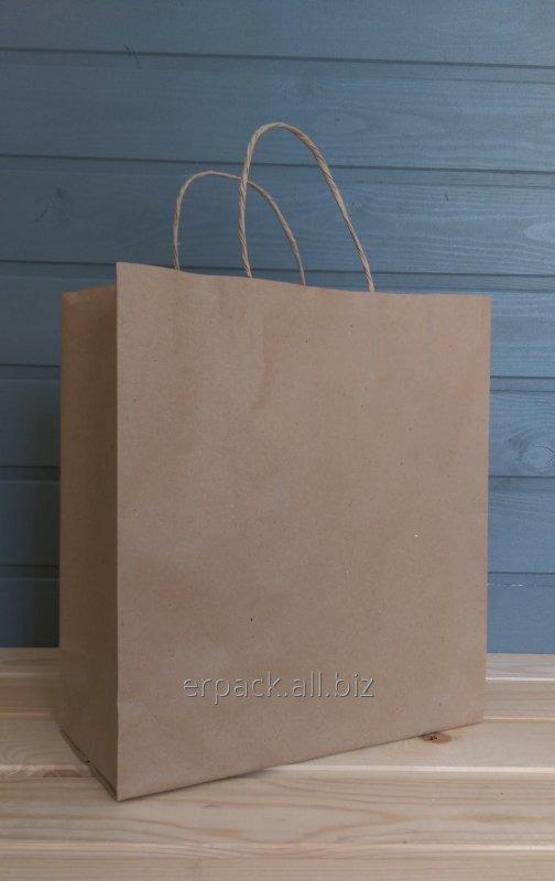 Купить Крафт пакеты на вынос с собой