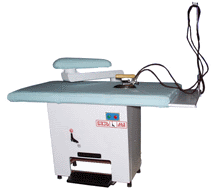 Buy Ironing table of LGS with the vacuum pump.