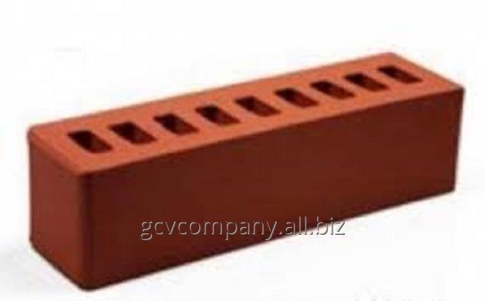 Кирпич керамический облицовочный, половинка, красный от ТОО Торговая компания G.C.V.