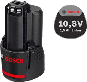 Аккумуляторная батарея Li-Ion 10,8 В; 1,5 Ач для шуруповертов BOSCH