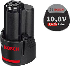 Аккумуляторная батарея Li-Ion 10,8 В; 2,0 Ач для шуруповертов BOSCH