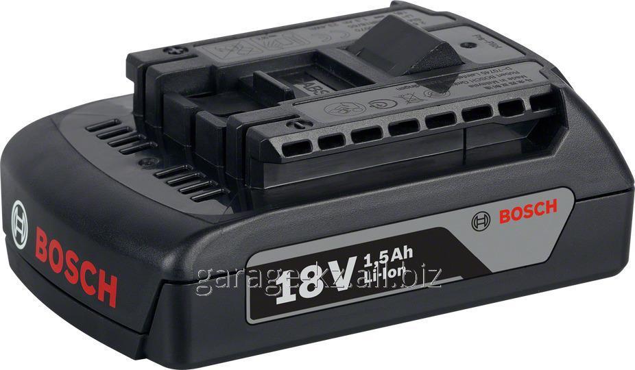 Аккумуляторная батарея Li-Ion 18 В, 1,5 Ач для шуруповертов BOSCH