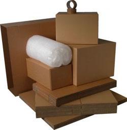 Купить Упаковочные материалы из бурого гофро-картона